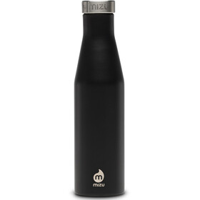 MIZU S6 Bidon with Stainless Steel Cap 600ml czarny